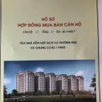 Mẫu hợp đồng mua bán chung cư thanh hà mường thanh