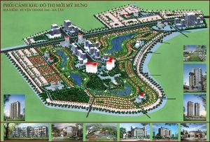 Khu đô thị mỹ hưng - Cienco 5